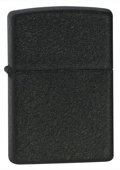 Zapalovač Zippo Black Crackle 26075 (Benzín Zdarma)