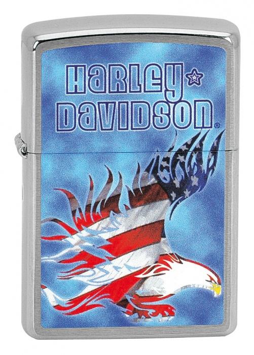 Zapalovač Zippo HARLEY DAVIDSON EAGLE 21631 (Benzín Zdarma)