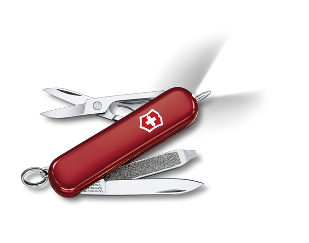 Kapesní nůž Victorinox Signature Lite červený