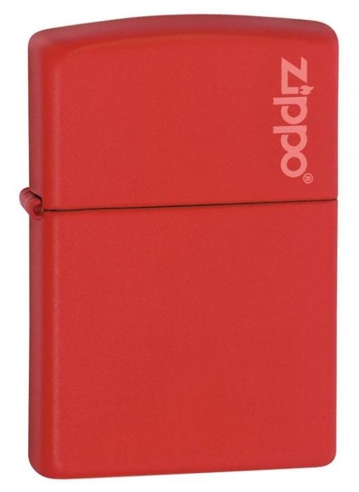 Benzínový zapalovač Zippo Red Matte w/Zippo Logo 26096