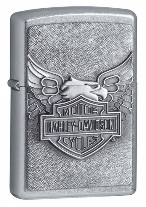 Benzínový zapalovač Zippo Harley-Davidson® 25098 (Benzín Zdarma)