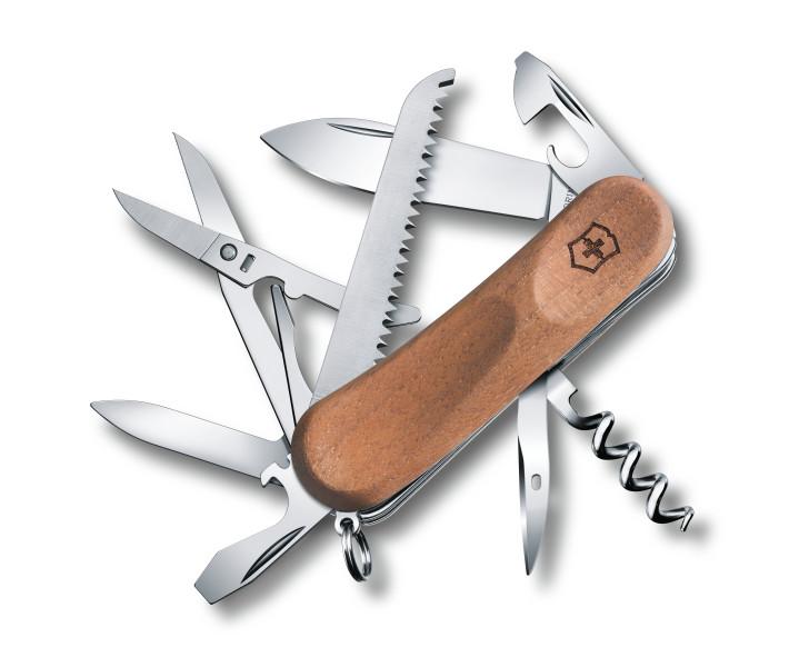 Kapesní nůž Victorinox Delémont EvoWood 17
