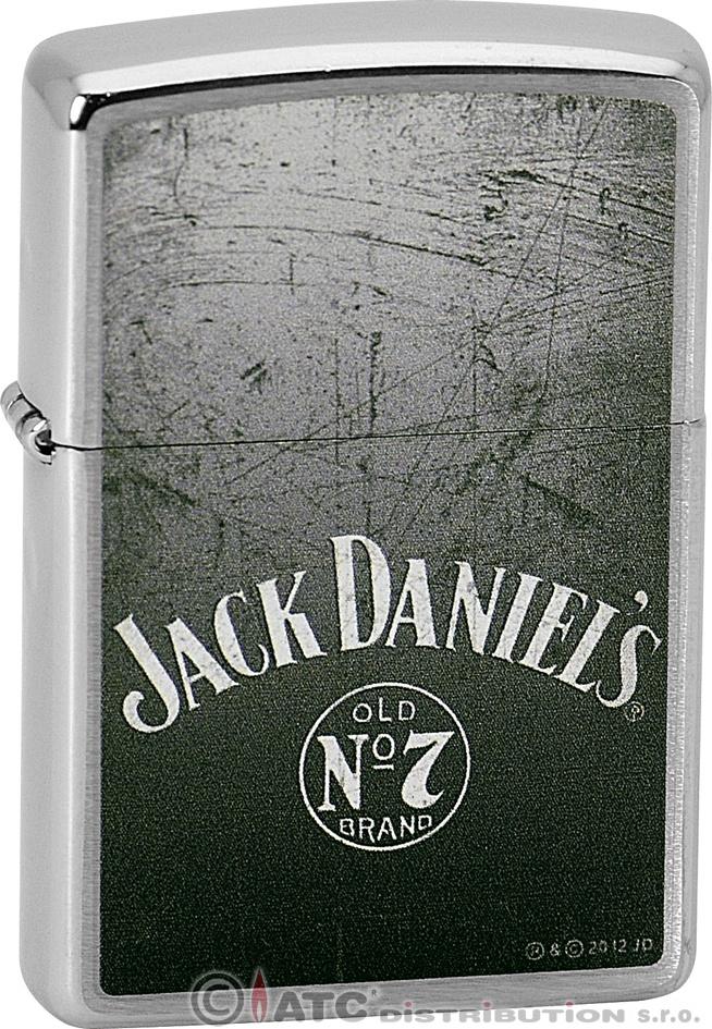 Zapalovač Zippo Jack Daniels Old No. 7 21692 (Benzín Zdarma)