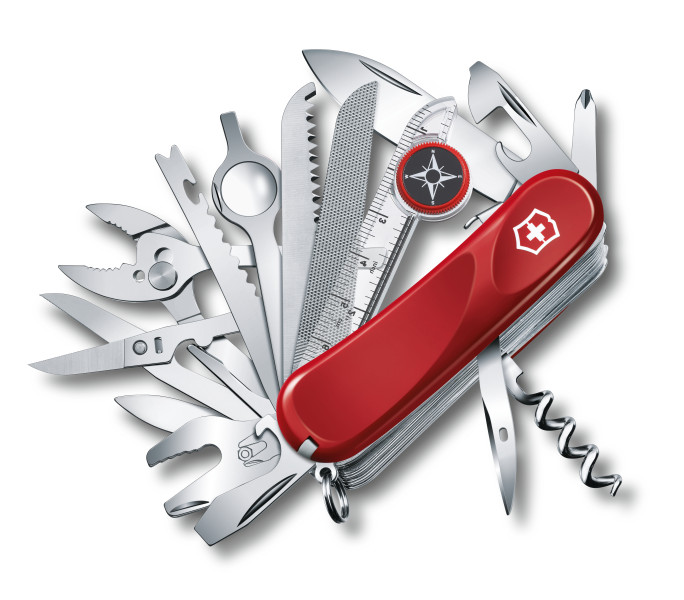 Kapesní nůž Victorinox Delémont Evolution S 54