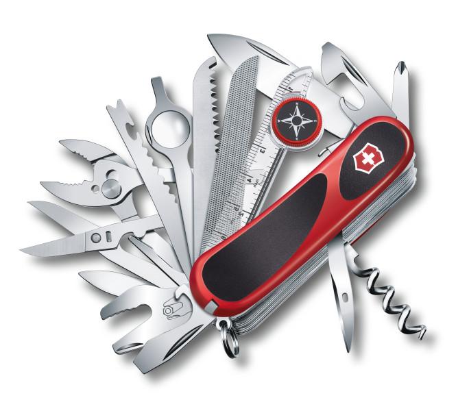 Kapesní nůž Victorinox Delémont EvoGrip S 54