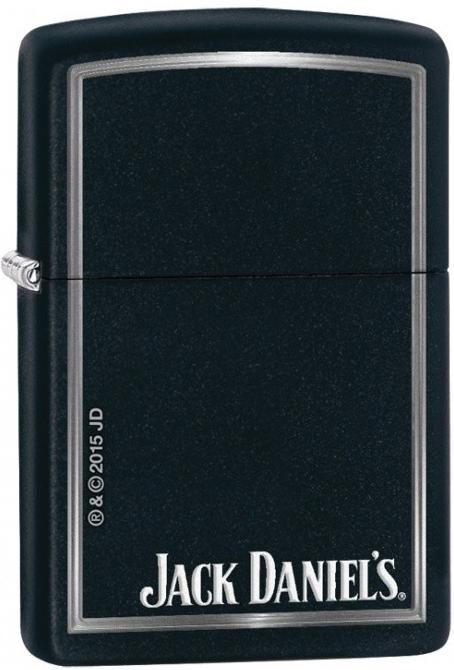 Zapalovač Zippo 26684 Jack Daniels (Benzín Zdarma)