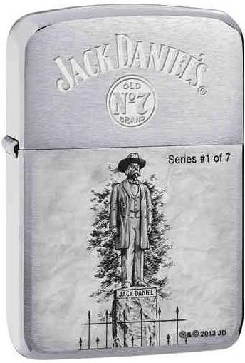 Zapalovač Zippo 21767 Jack Daniel's® (Benzín Zdarma)