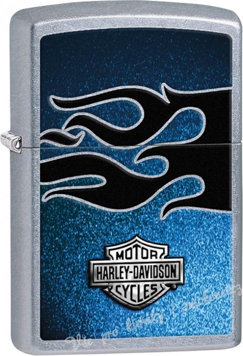 Zapalovač ZIPPO 25439 Harley Davidson (Benzín zdarma.)