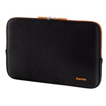 """Obal na tablet z neoprénu s """"pamětí"""" do 10,6"""" (27cm),černá/oranžová"""