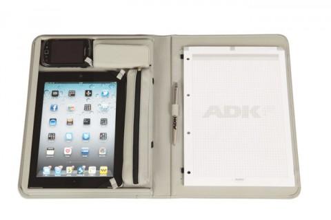Smartfile - cestovní pouzdro na tablet/iPad,iPhone,světle šedá