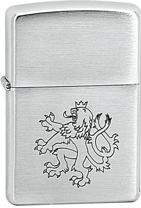 Zippo zapalovač 21051 Czech Lion (Benzín Zdarma)
