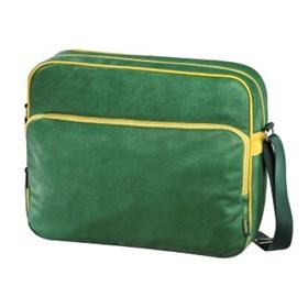"Hama brašna na Notebook Quarterbag, 40 cm (15.6""), zelená / žlutá"