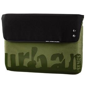 "AHA URBAN Notebook obal ""Stan"", 34 cm (13.3""), černá/zelená"