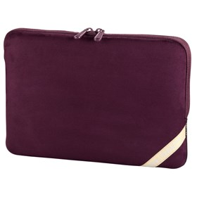"""Hama obal na notebook Velour, 26 cm (10.2""""), vínově červená"""