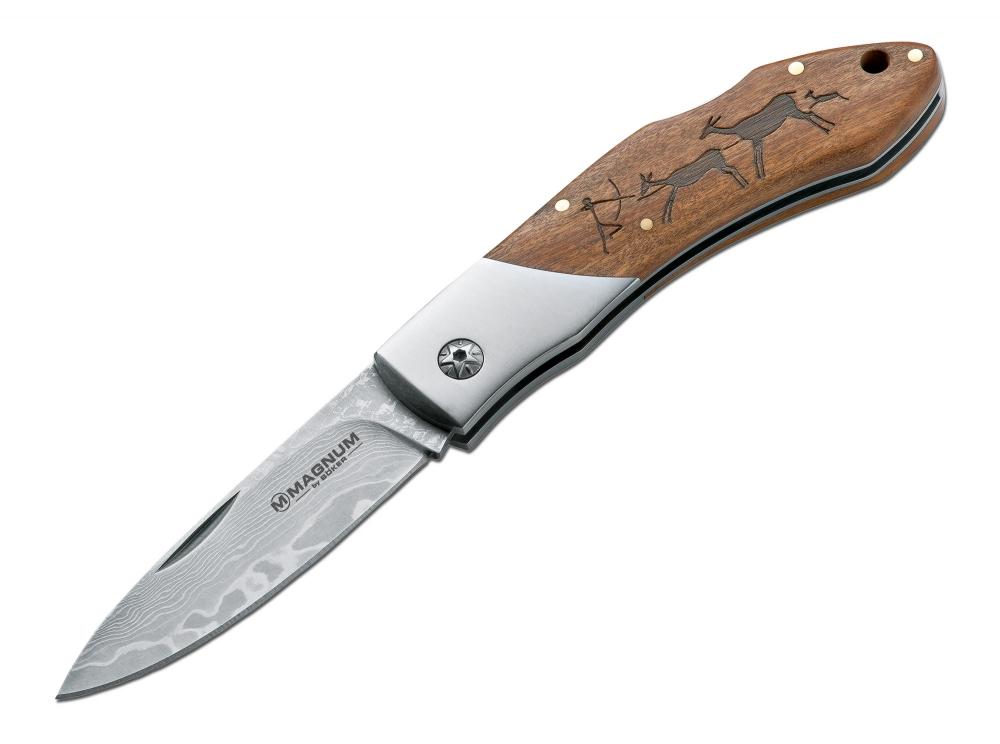 Kapesní nůž Böker Magnum Caveman Damast