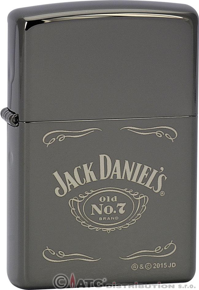 Zapalovač Zippo JACK DANIELS 26712 (Benzín Zdarma)