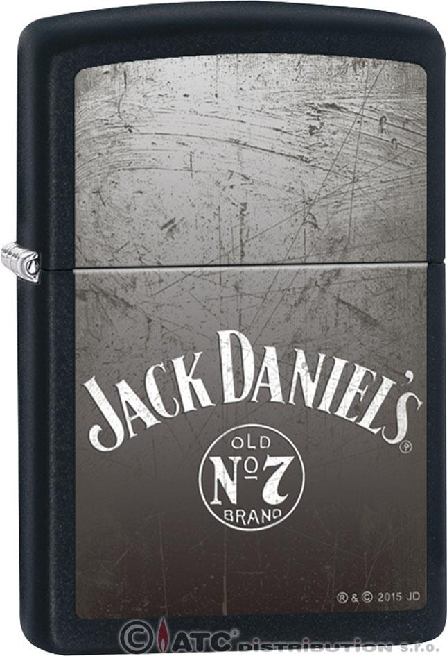 Zapalovač Zippo JACK DANIELS 26711 (Benzín zdarma.)