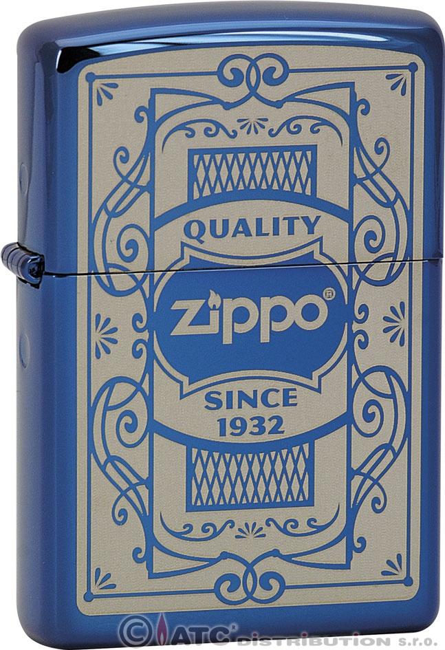 Zapalovač Zippo QUALITY ZIPPO 26728 (Benzín Zdarma)