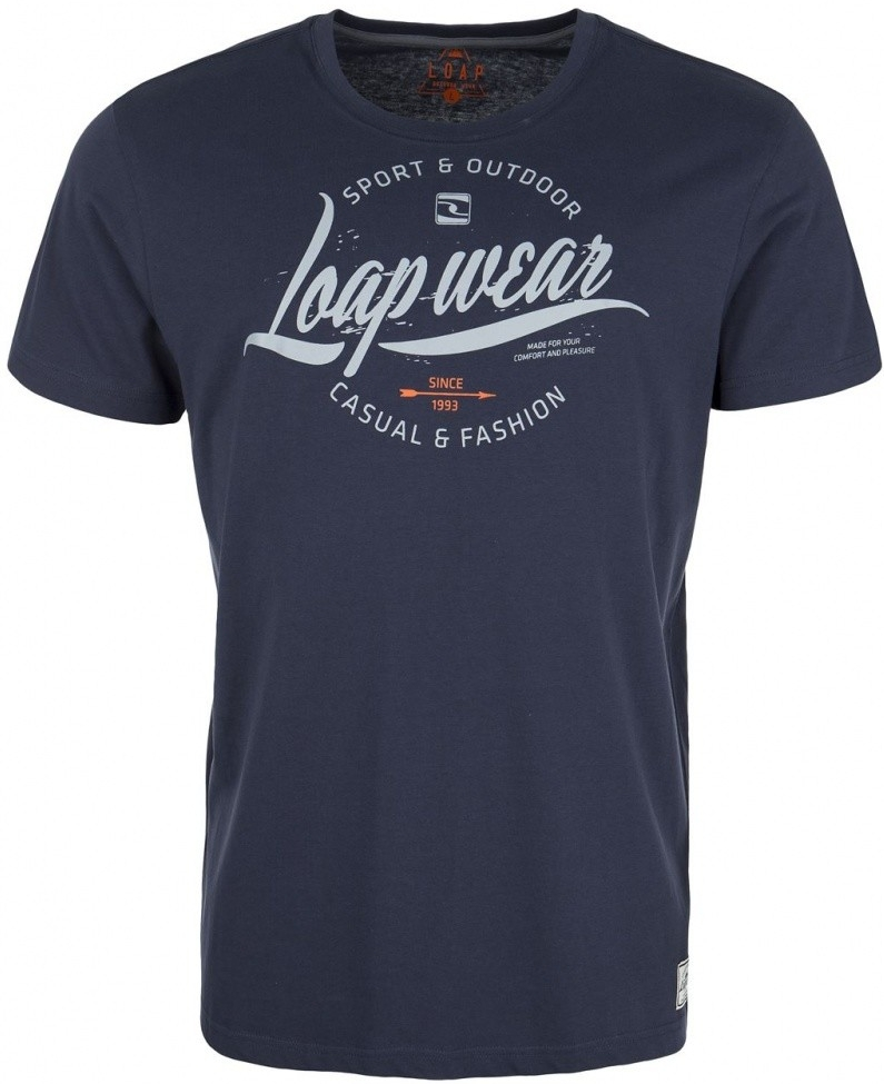 Pánské tričko Loap Barok modré