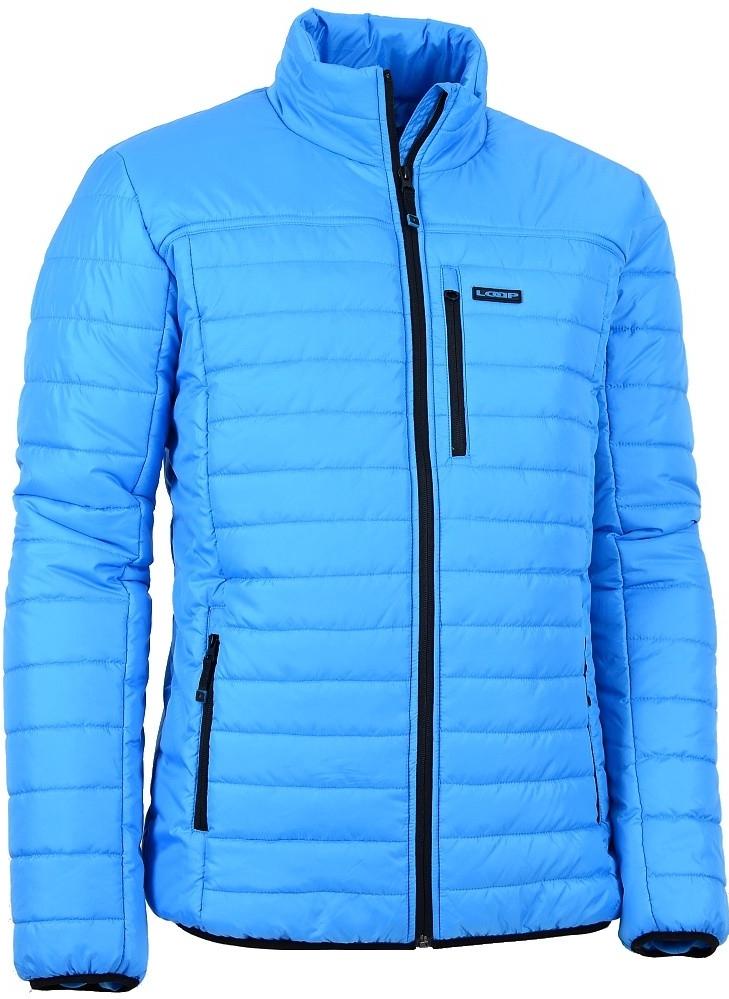 Pánská zimní bunda LOAP INDIAN CLM1505 SVĚTLE MODRÁ