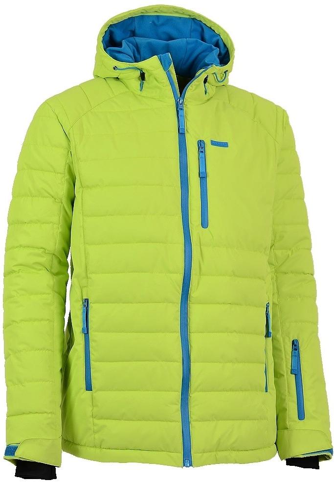 Pánská lyžařská bunda LOAP SIMON OLM1505 ZELENÁ