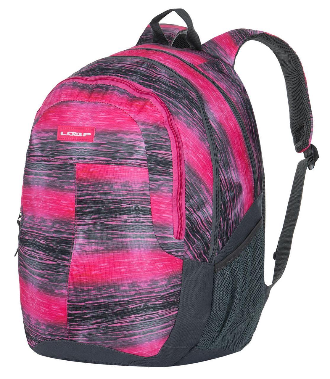 Školní batoh PERM růžová