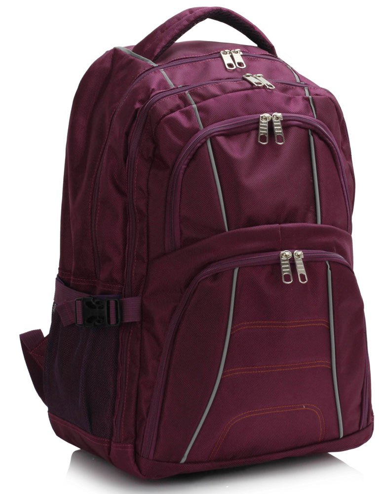 Batoh LS00444 - Purple Backpack Rucksack School Bag