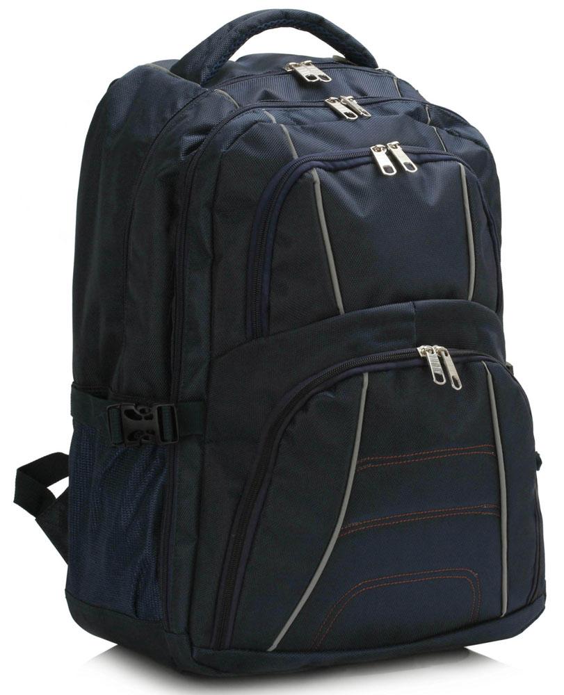 Batoh LS00444 - Navy Backpack Rucksack School Bag