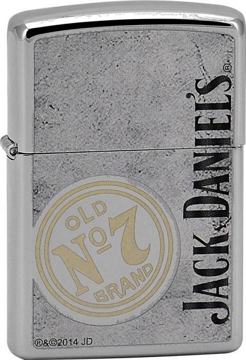 Benzínový zapalovač Zippo Jack Daniel's® 22904 (Benzín Zdarma)