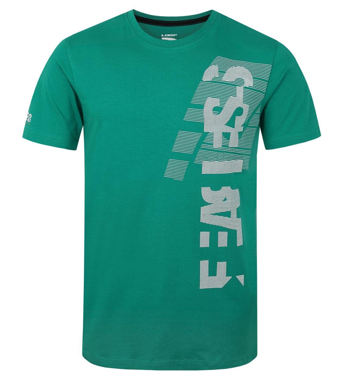 Pánské triko s krátkým rukávem LOAP BAO Zelená 098c39a1d5