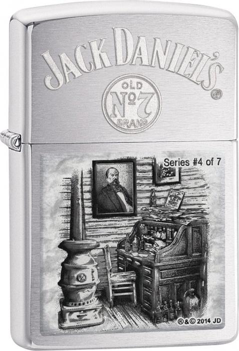 Benzínový zapalovač Zippo Jack Daniel's® 21787 (Benzín Zdarma)