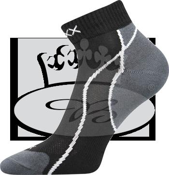 VoXX ponožky Grand 3pack Černá