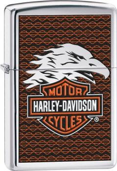 Benzínový zapalovač Zippo Harley-Davidson® 22820 (Benzín Zdarma)