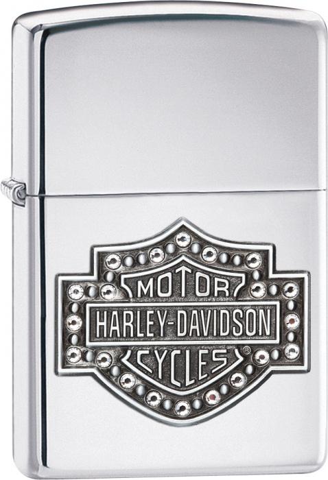 Benzínový zapalovač Zippo Harley-Davidson® 22832 (Benzín Zdarma)