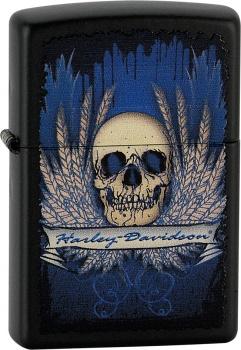 Benzínový zapalovač Zippo Harley-Davidson® 26564 (Benzín Zdarma)