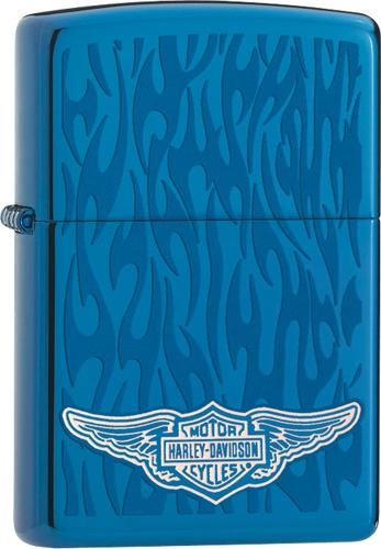 Benzínový zapalovač Zippo Harley-Davidson® 26614 (Benzín Zdarma)