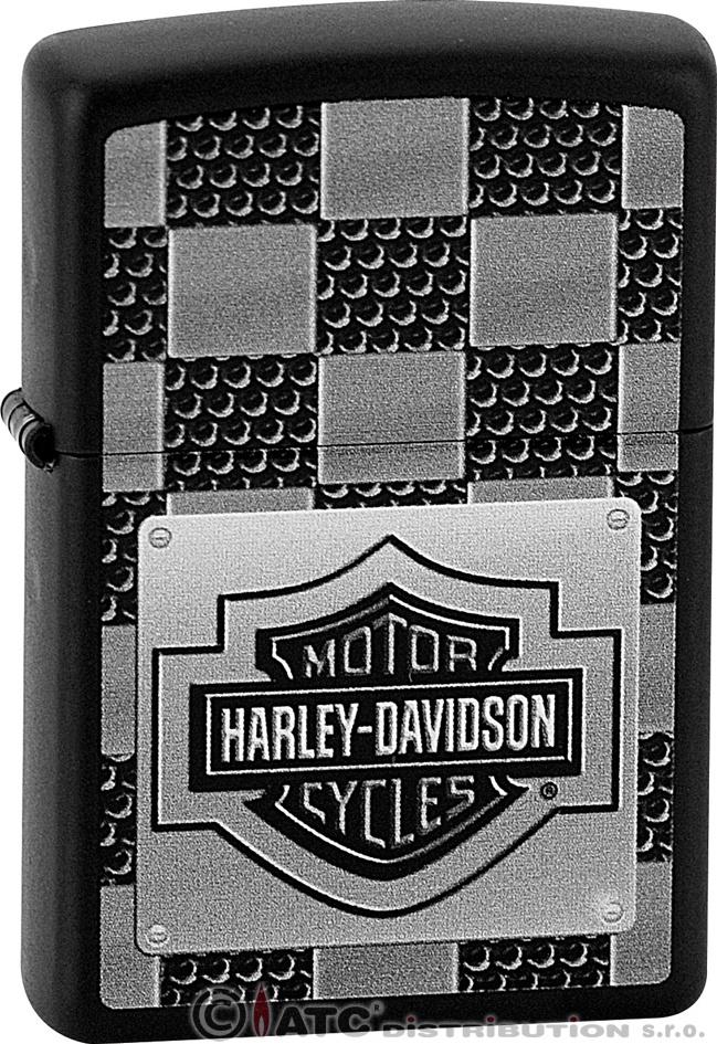 Zapalovač ZIPPO 26517 HARLEY DAVIDSON (Benzín zdarma.)