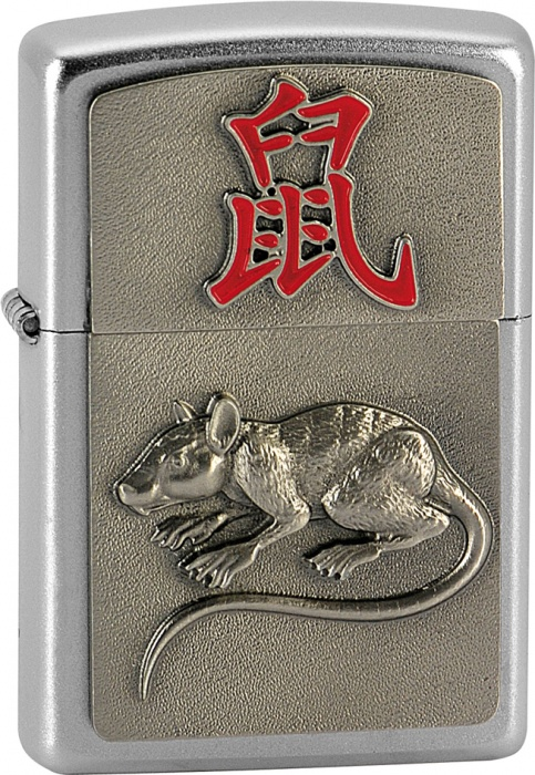 Benzínový zapalovač Zippo Year of the Rat 20362