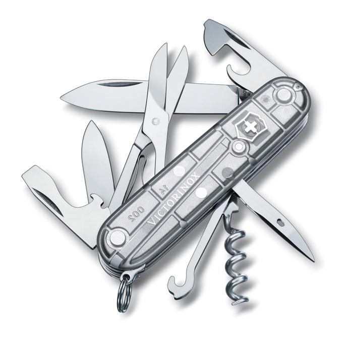 Kapesní nůž Victorinox Climber SilverTech (Dárek -USB Flash disk 8 GB Zdarma)