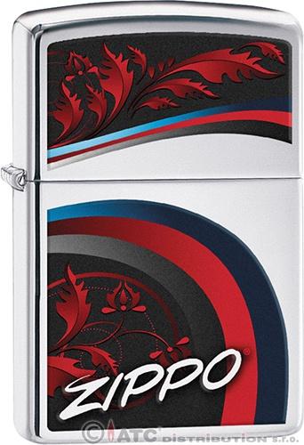 Zapalovač Zippo SATIN AND CHROME 22240 (Benzín zdarma)