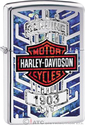 Zapalovač Zippo HARLEY DAVIDSON 22007 (Benzín zdarma)