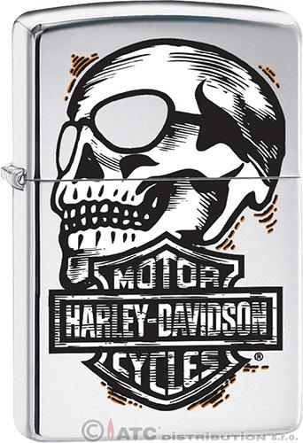 Zapalovač Zippo HARLEY DAVIDSON 22010 (Benzín zdarma)