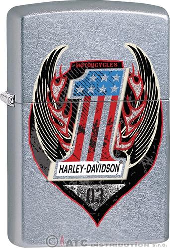 Zapalovač Zippo HARLEY DAVIDSON 25015 (Benzín zdarma)
