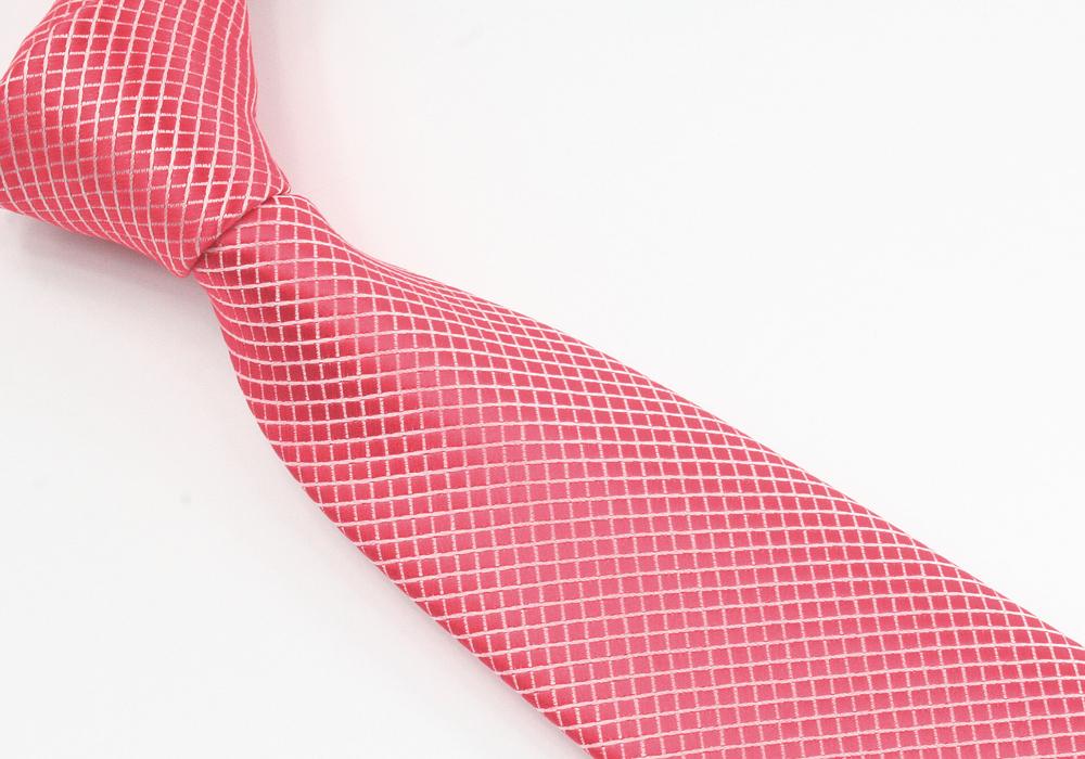 Červená elegantní kravata pánská