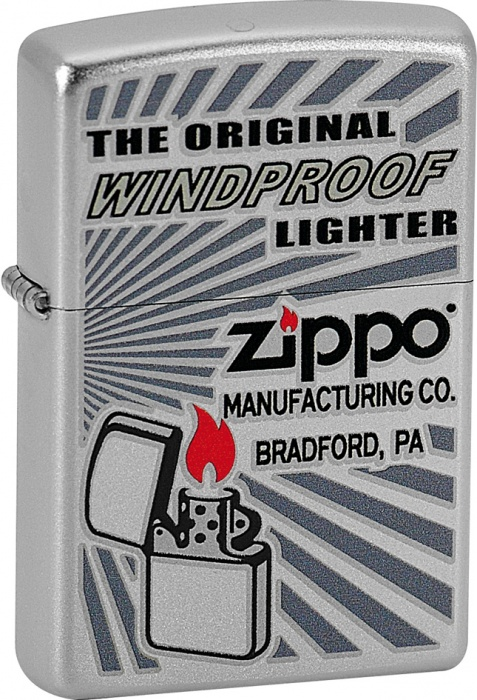 Benzínový zapalovač Zippo The Original Windy 20351 (Benzín Zdarma)