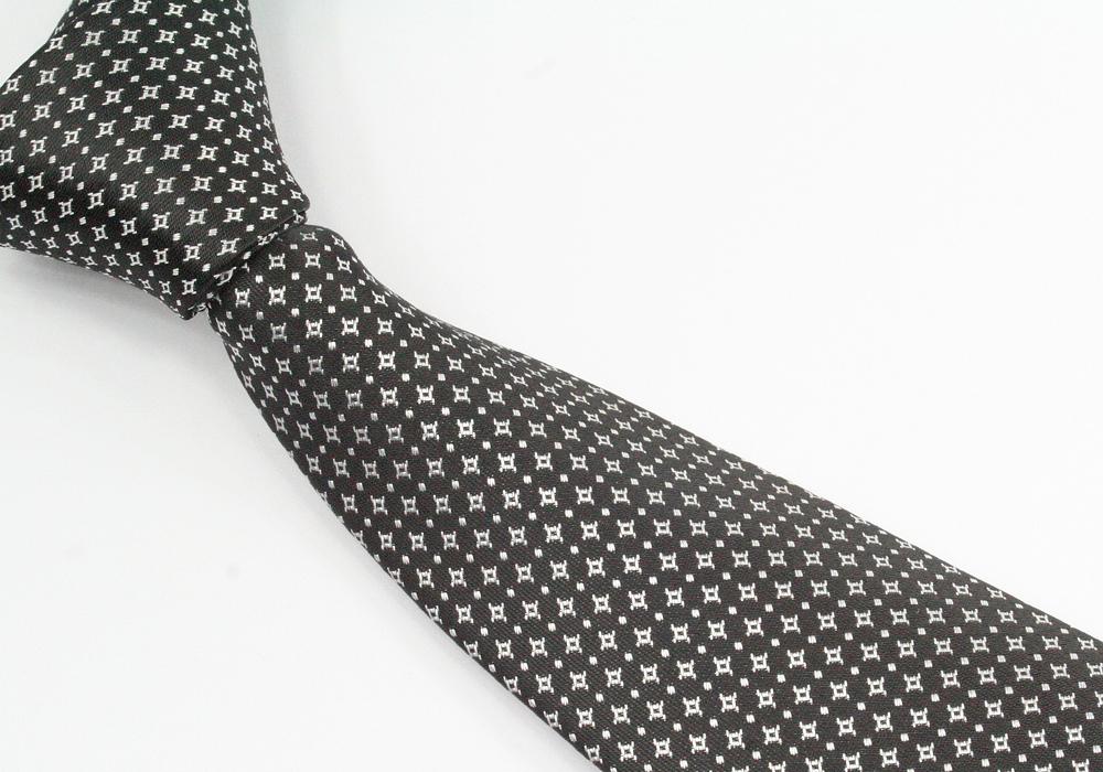 Pánská kravata černá