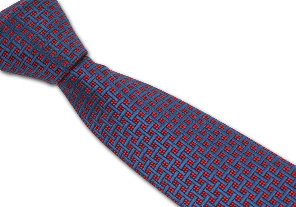Pánská kravata vzorkovaná