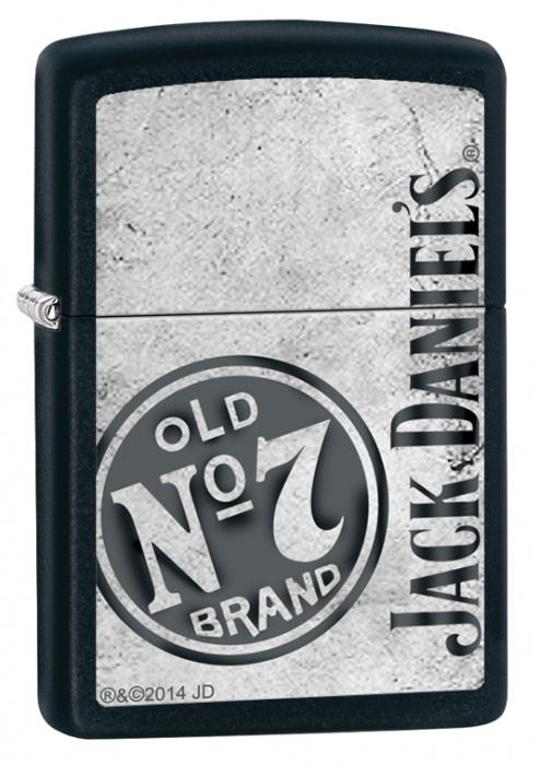 Benzínový zapalovač Zippo Jack Daniel's® 26571 (Benzín Zdarma)