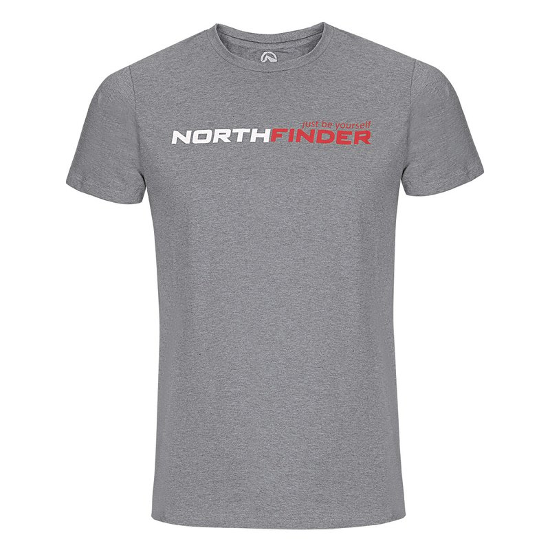 Pánské tričko NORTHFINDER FATRA šedá