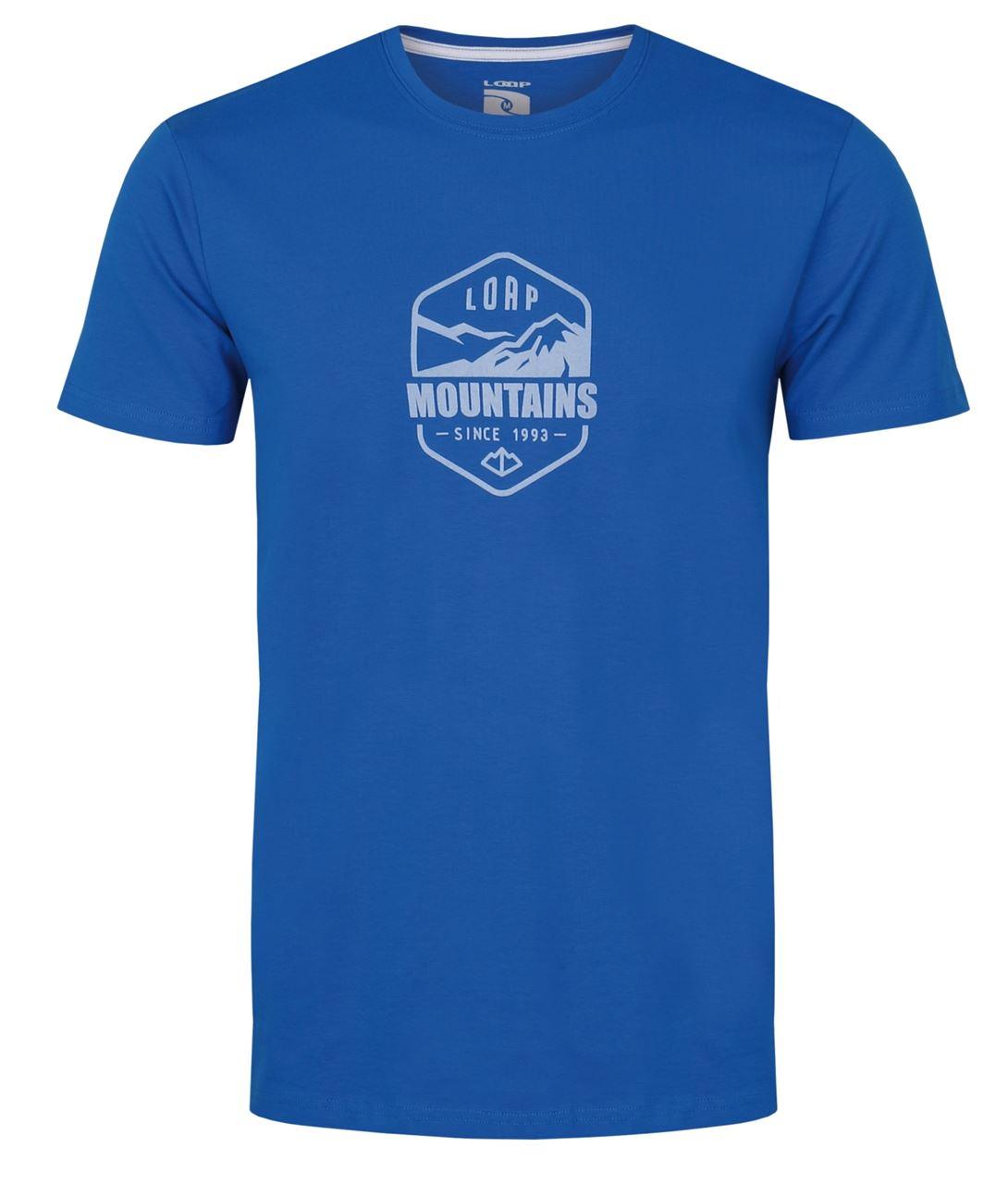 Pánské triko s krátkým rukávem LOAP Amor modrá